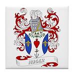Huger Coat of Arms Tile Coaster
