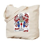 Huger Coat of Arms Tote Bag