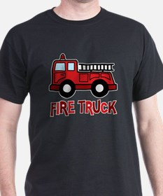 Funny Woman firefighters girl T-Shirt
