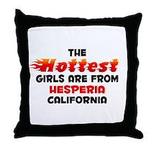 Hot Girls: Hesperia, CA Throw Pillow