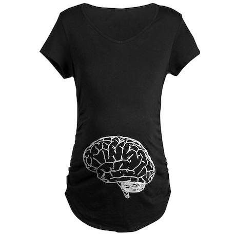Brain Maternity Dark T-Shirt