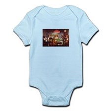 Dogs Playing Poker Infant Bodysuit