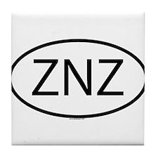 ZNZ Tile Coaster