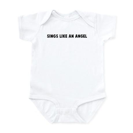 Sings like an angel Infant Bodysuit
