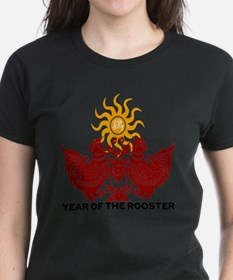 Year of The Rooster Papercu T-Shirt