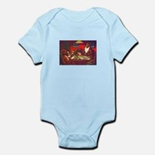 Dogs Playing Poker Waterloo Infant Bodysuit
