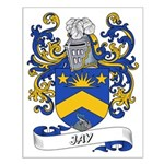 Jay Coat of Arms Small Poster