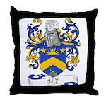 Jay Coat of Arms Throw Pillow