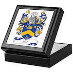 Jay Coat of Arms Keepsake Box