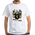 Jeffries Coat of Arms White T-Shirt