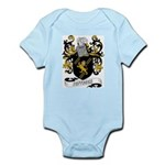 Jeffries Coat of Arms Infant Creeper