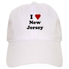 I Love New Jersey Baseball Cap