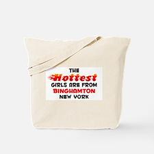 Hot Girls: Binghamton, NY Tote Bag