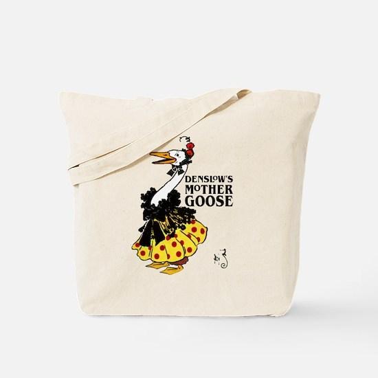 DENSLOW'S Mother Goose Tote Bag