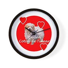 Coton Love Wall Clock