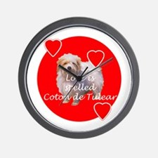 Coton Love Wall Clock