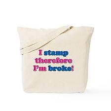 I Stamp Tote Bag