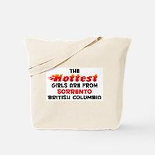 Hot Girls: Sorrento, BC Tote Bag