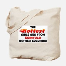 Hot Girls: Sointula, BC Tote Bag