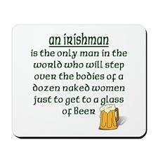 Irishman Mousepad
