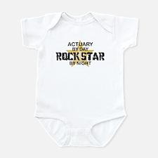 Actuary Rock Star Infant Bodysuit