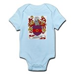 Josselyn Coat of Arms Infant Creeper