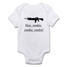 here, zombie Infant Bodysuit