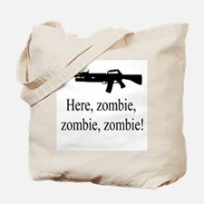 here, zombie Tote Bag