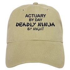 Actuary Deadly Ninja Baseball Cap