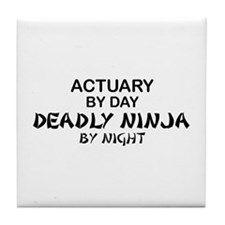Actuary Deadly Ninja Tile Coaster