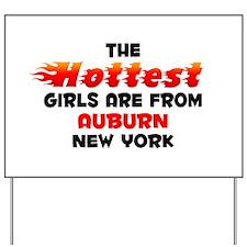 Hot Girls: Auburn, NY Yard Sign
