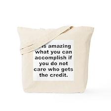 You can accomplish Tote Bag