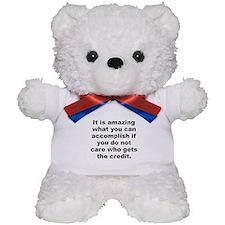 Funny You can accomplish Teddy Bear