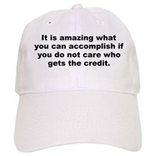 You can accomplish Baseball Cap