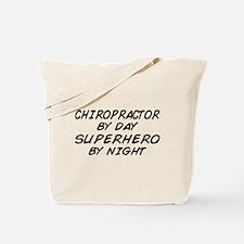Chiropractor Superhero Tote Bag