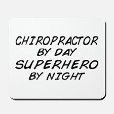 Chiropractor Superhero Mousepad