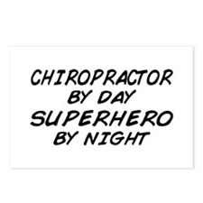 Chiropractor Superhero Postcards (Package of 8)