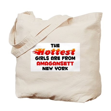 Hot Girls: Amagansett, NY Tote Bag
