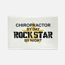 Chiropractor Rock Star Rectangle Magnet