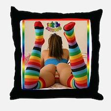 #0045 Taste the RAINBOW Throw Pillow