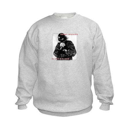Animal Liberation Kids Sweatshirt