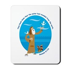 Noah and the Dove Mousepad