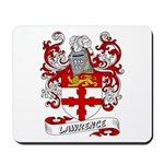 Lawrence Coat of Arms Mousepad