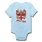 Lawrence Coat of Arms Infant Creeper