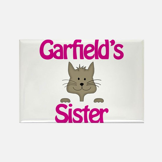 Garfield's Sister Rectangle Magnet
