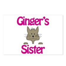 Ginger's Sister Postcards (Package of 8)