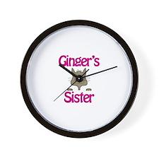 Ginger's Sister Wall Clock