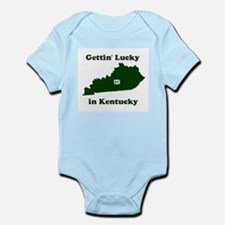 Gettin' Lucky In Kentucky Infant Creeper