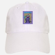 11th Birthday Cat Baseball Baseball Cap