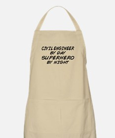 Civil Engineer Superhero BBQ Apron